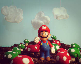Mushroom Harvest by DesaturatedDream