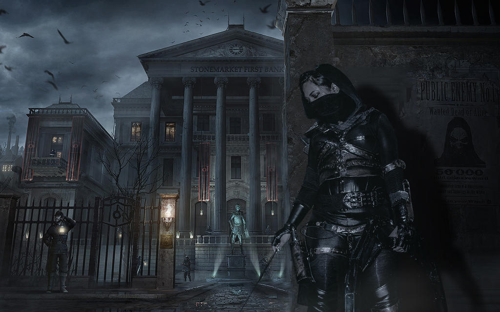 Thief Bank Heist Mission-wide by Night-Deathblooms
