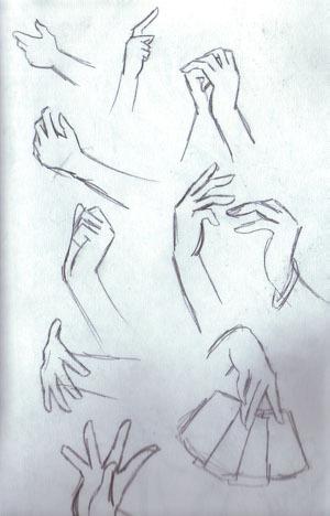 how to draw anime hands by NekoBrenda