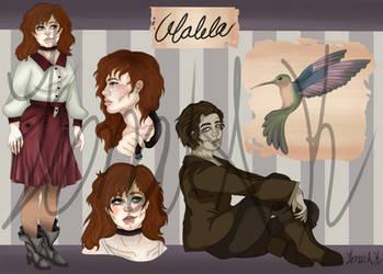 Walela Maher OC Ref and Bio by Fiona-K
