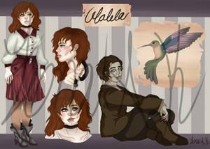 Walela Maher OC Ref and Bio