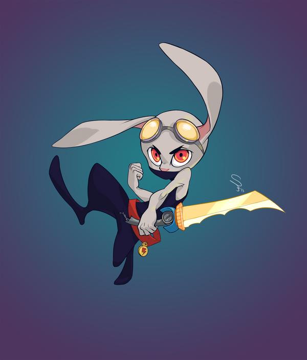 Bunnymancer by mior3e