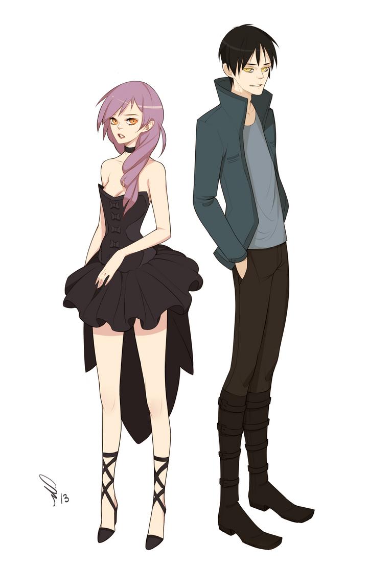 Saerin + Itsuki by mior3e