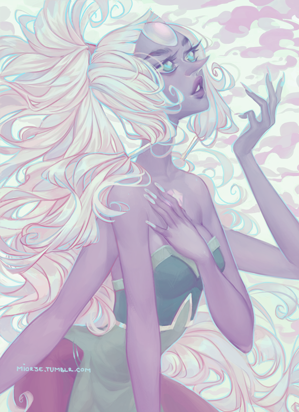 | TUMBLR  | FACEBOOK | TWITTER | INSTAGRAM | YOUTUBE | TWITCH A tribute to the lovely gem fusion Opal, from Steven Universe. Everyone sho...