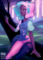 CottonCandy Garnet by mioree-art