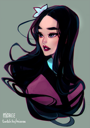 Mulan by mioree-art