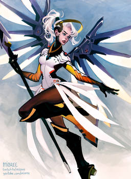 Mercy .Overwatch.