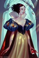 Snow White by mioree-art