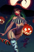 Halloween Dempen by mioree-art