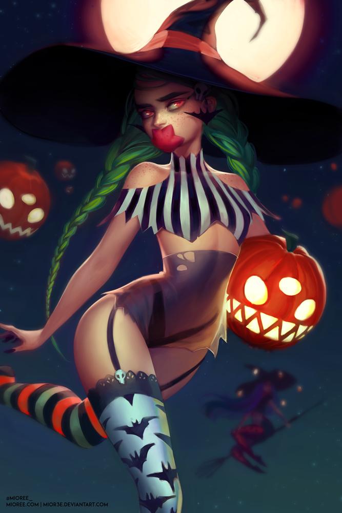 Halloween Dempen by mior3e