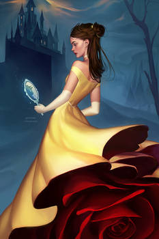 Winter Belle - Beauty and the Beast (+PRINT)