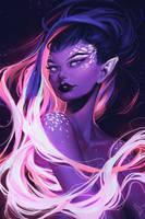 Maid Of Stars by mioree-art
