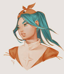 Yotsugi Ononoki by mioree-art