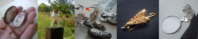 Jewellery inspired by Sherlock by Milwa-cz