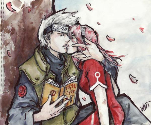 naruto sakura kiss by milwa cz on deviantart