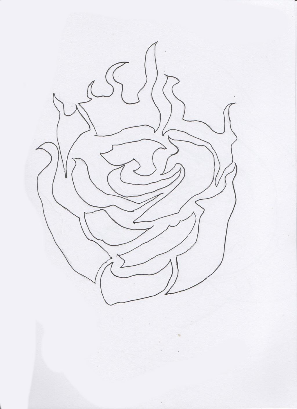 Rose (Ruby Rose) Symbol attempt by lienora on DeviantArt