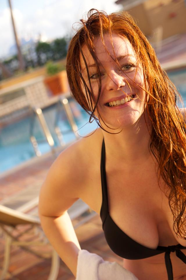 Big Smile, Wet Hair by CamilleCrimson