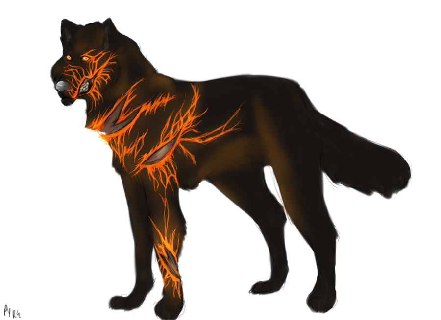Real Art Design Group Chicago : Lava wolf by chicagolimits on deviantart