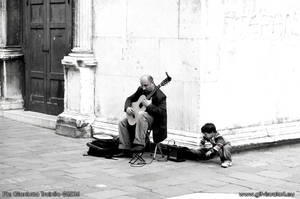 The Musician and the Child by gltvisualart