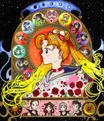 Sailor Moon Zodiac Colour by littlemooglet