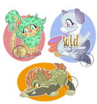 Adoptables Creatures {OPEN} by byDaliaPamela