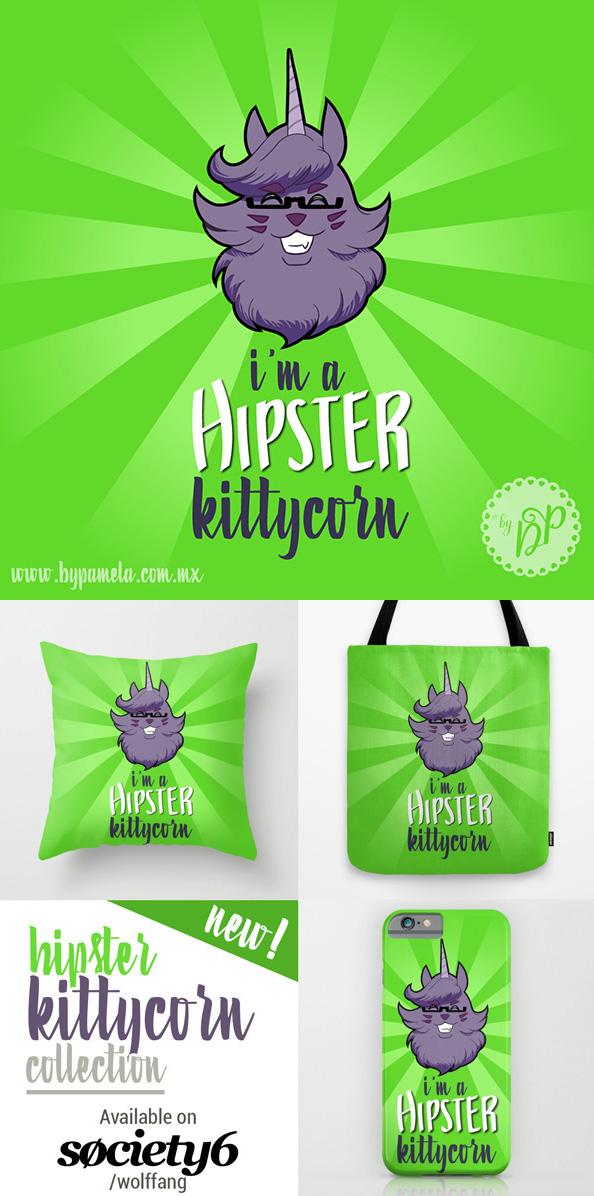 Im a hipster kittycorn by byDaliaPamela
