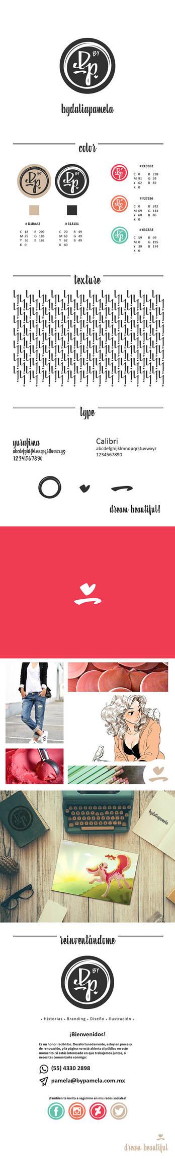 byDaliaPamela brand guide