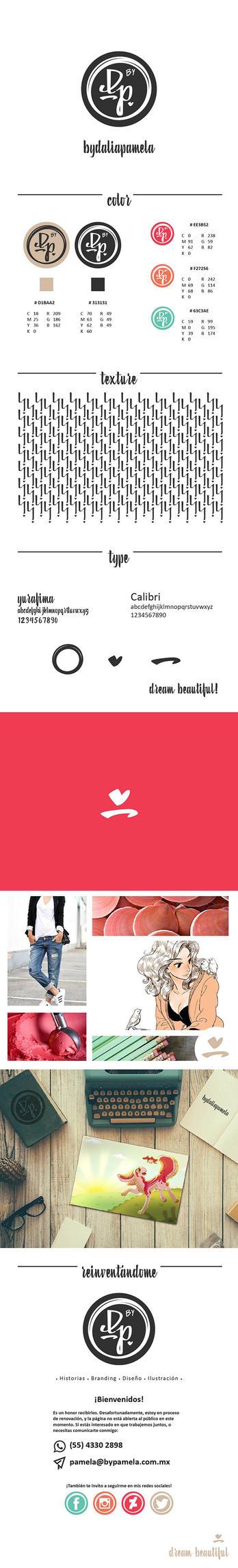 byDaliaPamela brand guide by byDaliaPamela