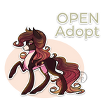 Pony adoptable (OPEN) by byDaliaPamela