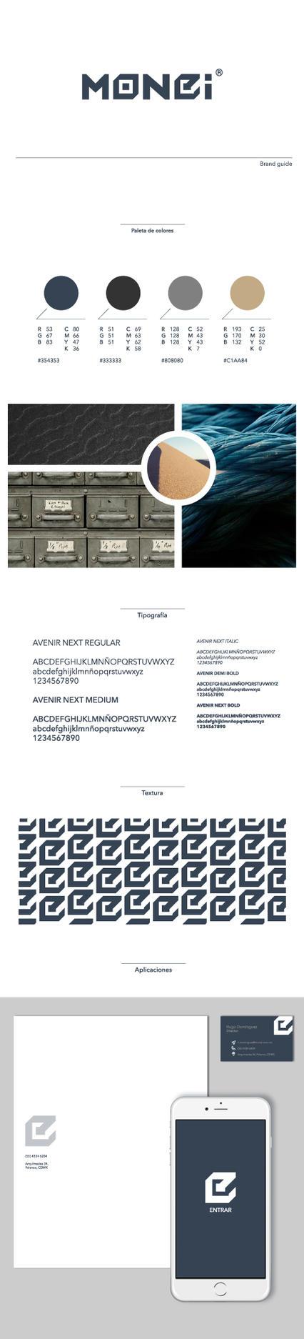 Monei Brand Guide by byDaliaPamela
