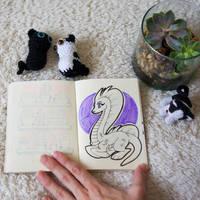 Dragon character design by byDaliaPamela