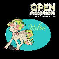 Prancing Ponies adoptables (Melon) OPEN by byDaliaPamela