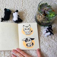 Kawaii pets by byDaliaPamela