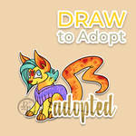 Draw to adopt Kittie (CLOSED)