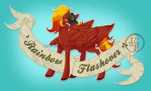 Rainbow Flashover tattoo style by byDaliaPamela