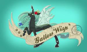 Gallow Wisp tattoo style by byDaliaPamela