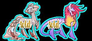 Pony designs (CLOSED) by byDaliaPamela