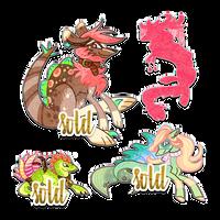Creature designs by byDaliaPamela