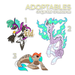 Creature designs adoptables (OPEN) by byDaliaPamela