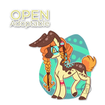 Pony adopt (OPEN) by byDaliaPamela
