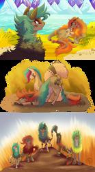 La guerra de las cinco tribus capitulo 1 al 3 by byDaliaPamela