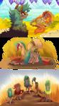 La guerra de las cinco tribus capitulo 1 al 3