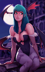 Morrigan, by Raichiyo33 by Antsstyle