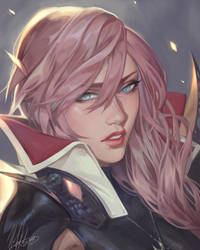 Lightning Portrait, by Noa Ikeda by Antsstyle
