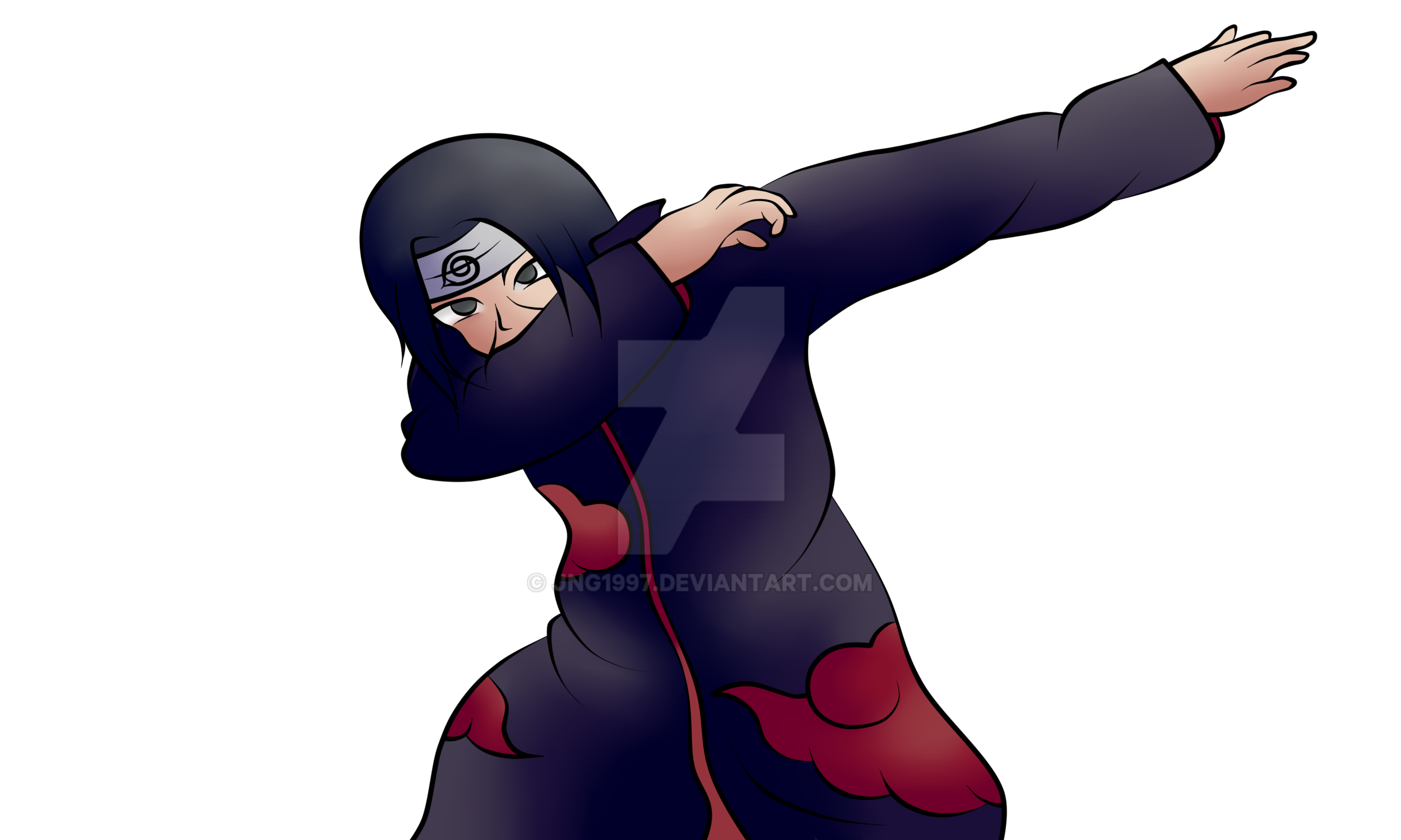 Anime Characters Dabbing : Itachi dab by jng on deviantart