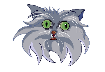 Gato Pixel by JNG1997