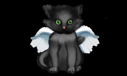 Gato Con alas