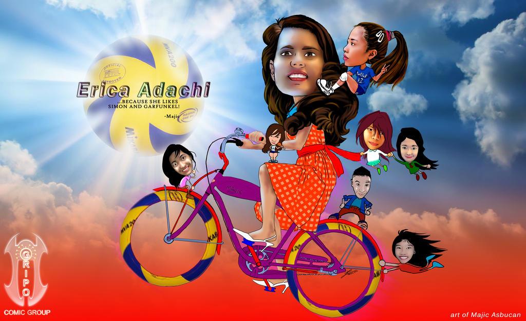 Erica Adachi by Master-Majic