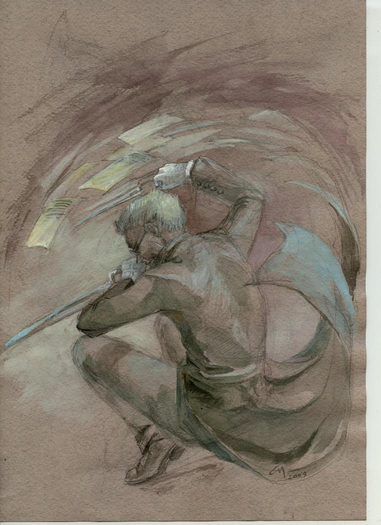 Steel whirlwind by Unita-N
