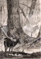 Unicorn forest by Unita-N